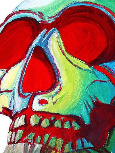 Skull-Megan Aroon Duncanson-Art Print