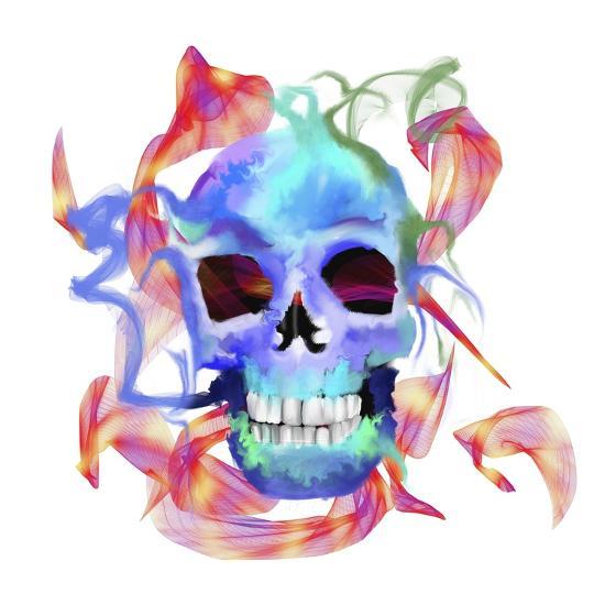 Skull-Stephanie Analah-Giclee Print