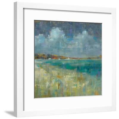 Sky and Sea Crop-Danhui Nai-Framed Art Print