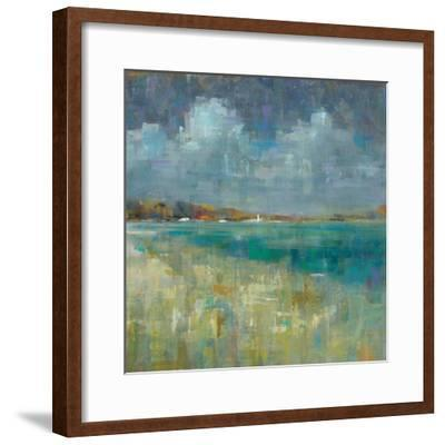 Sky and Sea Crop-Danhui Nai-Framed Art Print