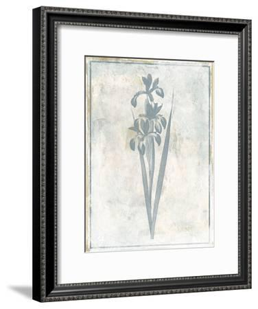 Sky Floral Four-Jace Grey-Framed Art Print