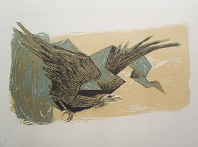 Sky Hawk-Benton Spruance-Art Print