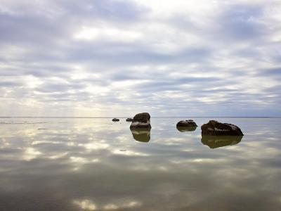 Sky Reflected in Water--Photographic Print