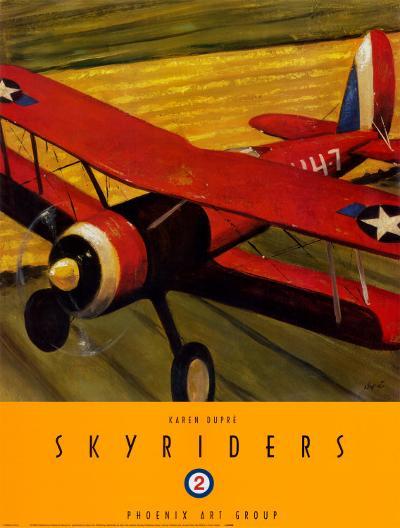 Sky Riders II-Karen Dupr?-Art Print