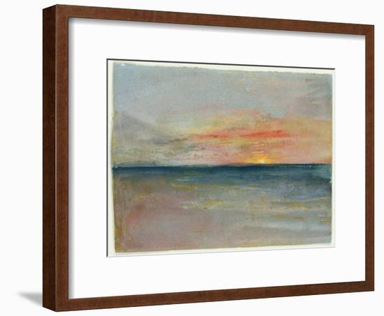 Sky Study-J^ M^ W^ Turner-Framed Premium Giclee Print