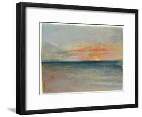 Sky Study-J^ M^ W^ Turner-Framed Giclee Print