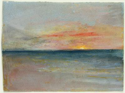 Sky Study-J^ M^ W^ Turner-Giclee Print