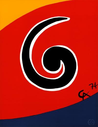Sky Swirl-Alexander Calder-Art Print
