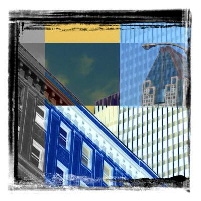 Skycrapers Frame-Jean-Fran?ois Dupuis-Art Print