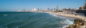 Skyline and Mediterranean Sea, Tel Aviv, Israel