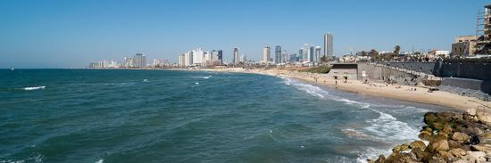 Skyline and Mediterranean Sea, Tel Aviv, Israel--Photographic Print