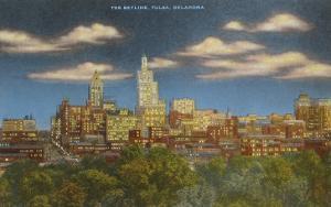 Skyline at Dusk, Tulsa, Oklahoma