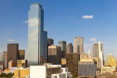 Skyline, Dallas, Texas, United States of America, North America-Kav Dadfar-Photographic Print