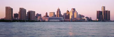 Skyline Detroit Mi, USA