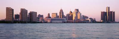 Skyline Detroit Mi, USA--Photographic Print