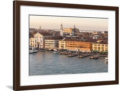 Skyline from Above. Venice. Italy-Tom Norring-Framed Photographic Print
