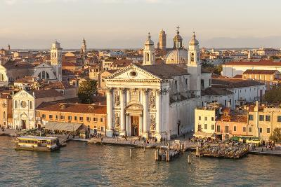 Skyline from Above with Gesuati in Front. Venice. Italy-Tom Norring-Photographic Print