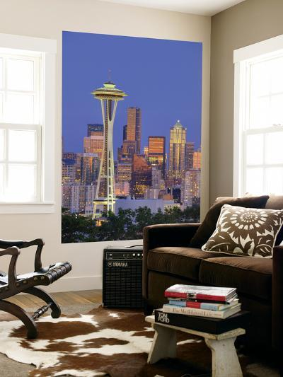 Skyline From Kerry Park, Seattle, Washington, USA-Jamie & Judy Wild-Giant Art Print