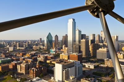 Skyline from Reunion Tower, Dallas, Texas, United States of America, North America-Kav Dadfar-Photographic Print