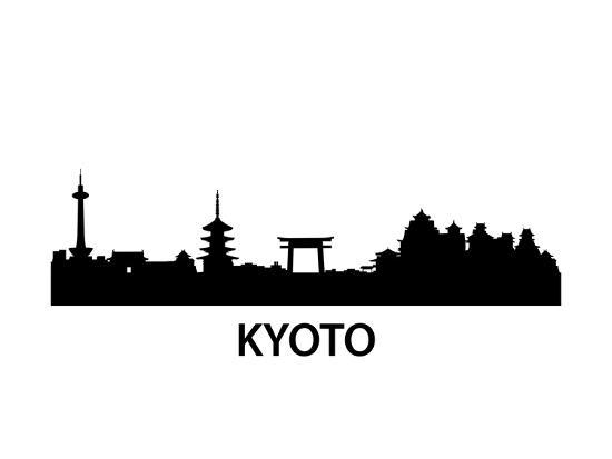 Skyline Kyoto-unkreatives-Art Print