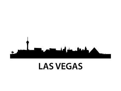 Skyline Las Vegas-unkreatives-Art Print