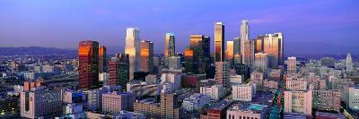 Skyline, Los Angeles, California--Photographic Print