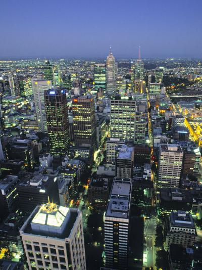 Skyline, Melbourne, Victoria, Australia-Doug Pearson-Photographic Print