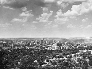 Skyline of Birmingham, Alabama from Red Mountain