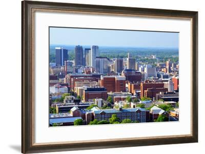 Skyline of Downtown Birmingham, Alabama, Usa.-SeanPavonePhoto-Framed Photographic Print