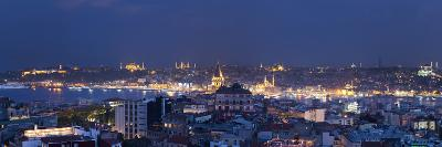 Skyline of Istanbul from the Beyoglu Area, Istanbul, Turkey-Jon Arnold-Photographic Print