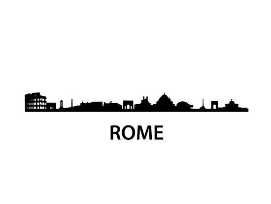 Skyline Of Rome-unkreatives-Art Print
