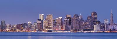 Skyline of San Francisco from Treasure Iceland, California, Usa-Rainer Mirau-Photographic Print
