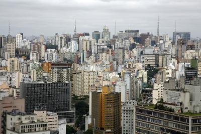 Skyline of Sao Paulo, Brazil, South America-Yadid Levy-Photographic Print