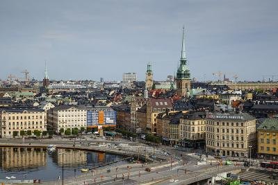 Skyline of Stockholm, Sweden, Scandinavia, Europe-Yadid Levy-Photographic Print