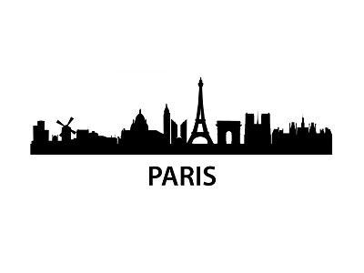 Skyline Paris-unkreatives-Art Print