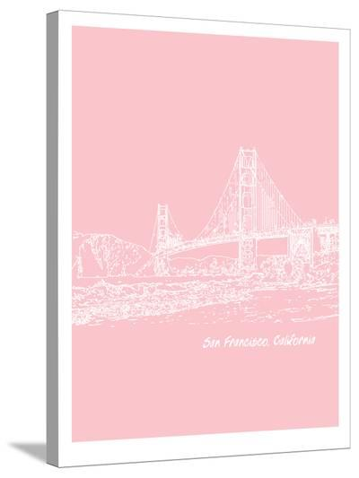 Skyline San Francisco 9-Brooke Witt-Stretched Canvas Print