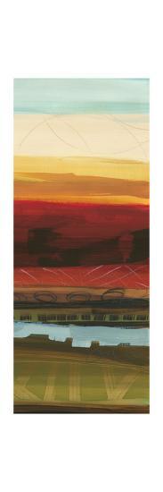 Skyline Symmetry Panel II - Stripes, Layers-Jeni Lee-Premium Giclee Print