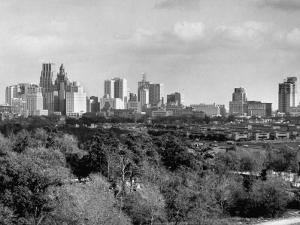 Skyline View of Houston