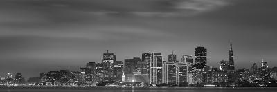 Skyline Viewed from Treasure Island, San Francisco, California, USA--Photographic Print