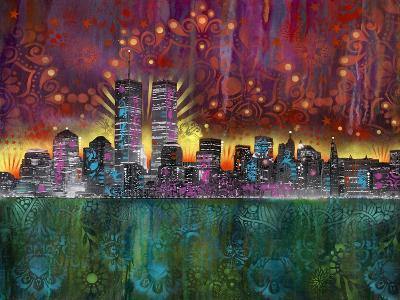 Skyline-Dean Russo- Exclusive-Giclee Print
