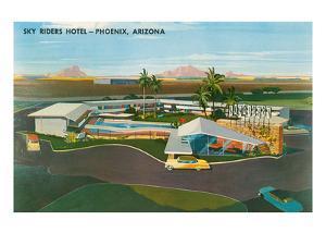 Skyriders Hotel, Phoenix, Arizona