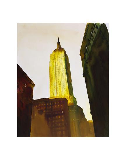 Skyscraper 1-Paulo Romero-Art Print