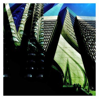 Skyscrapers 1-Jean-Fran?ois Dupuis-Art Print