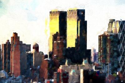 Skyscrapers at Sunset-Philippe Hugonnard-Giclee Print