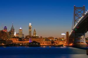 Skyscrapers at the waterfront, Philadelphia, Pennsylvania, USA