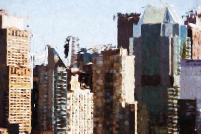Skyscrapers Collection III - In the Style of Oil Painting-Philippe Hugonnard-Giclee Print