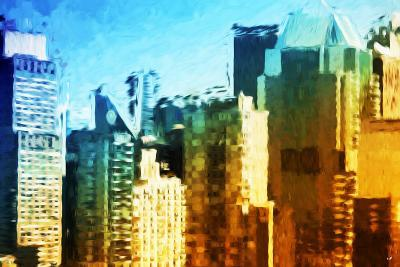 Skyscrapers Collection IV - In the Style of Oil Painting-Philippe Hugonnard-Giclee Print