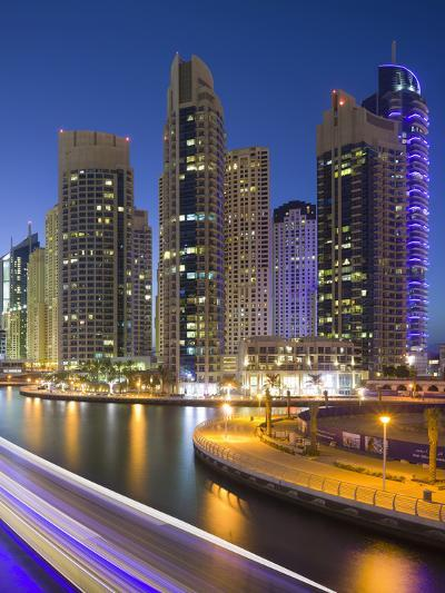 Skyscrapers, Dubai Marina, Dubai, United Arab Emirates-Rainer Mirau-Photographic Print