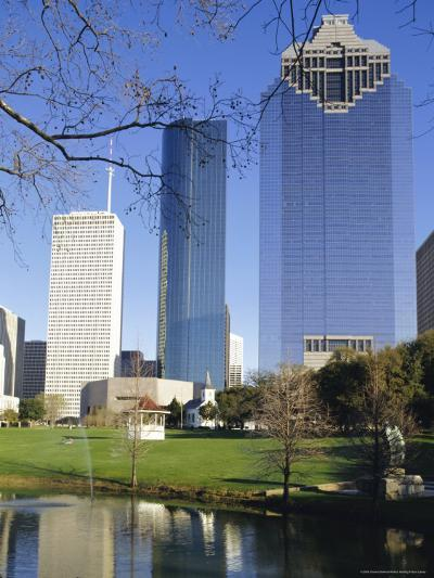 Skyscrapers, Houston, Texas, USA-Charles Bowman-Photographic Print