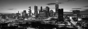 Skyscrapers in a City, Atlanta, Georgia, USA